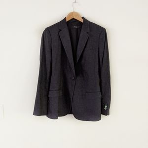 NWT Theory Staple Linen Blazer in Navy Blue